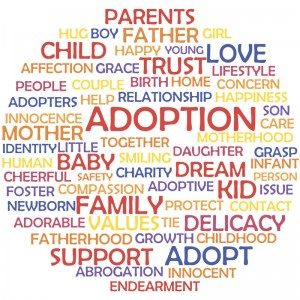 adoption words